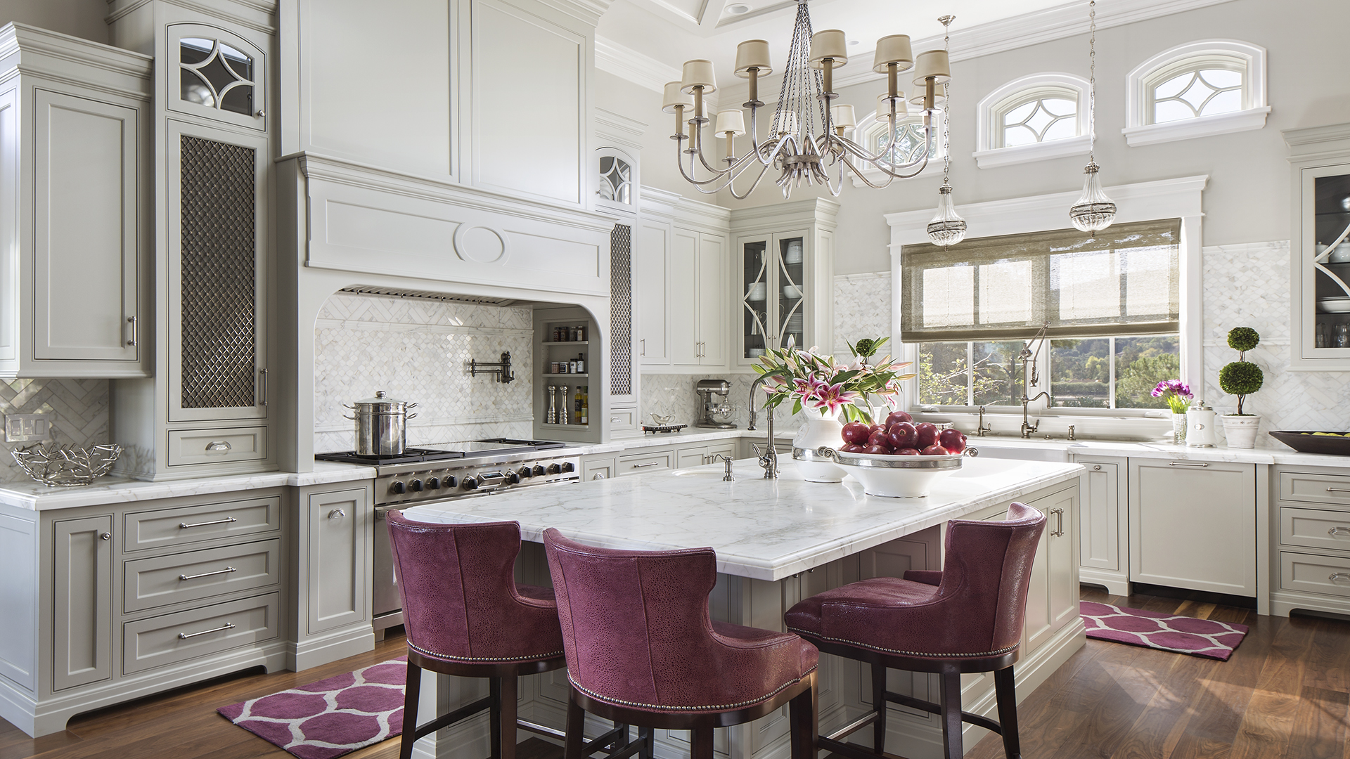Sophisticated Chic Spectrum Interior Design