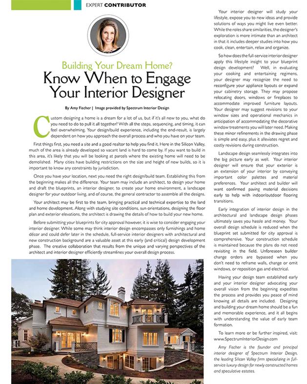 Press Articles By Amy Fischer Spectrum Interior Design